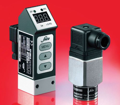 mechanical pressure switch / with digital display