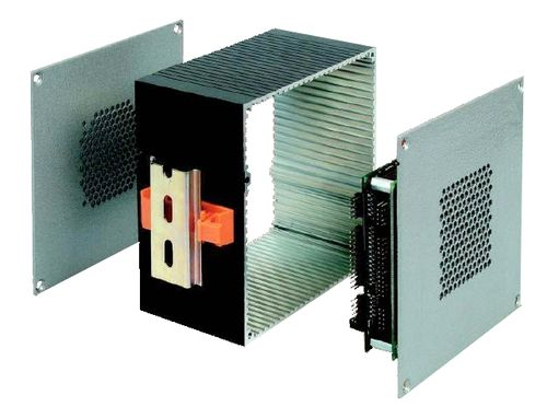 compact enclosure / sheet metal / for PC / PC 104