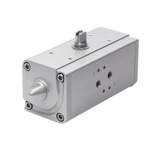 rotary actuator / pneumatic / double-acting / single-acting