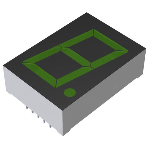 LED displays / alphanumeric / 7-segment / 1-digit LA series  ROHM Semiconductor