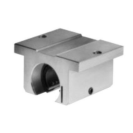 linear bearing unit / open / ball bushing / metal