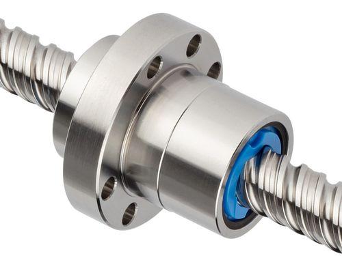 rolled ball screw / steel / high-efficiency / recirculating