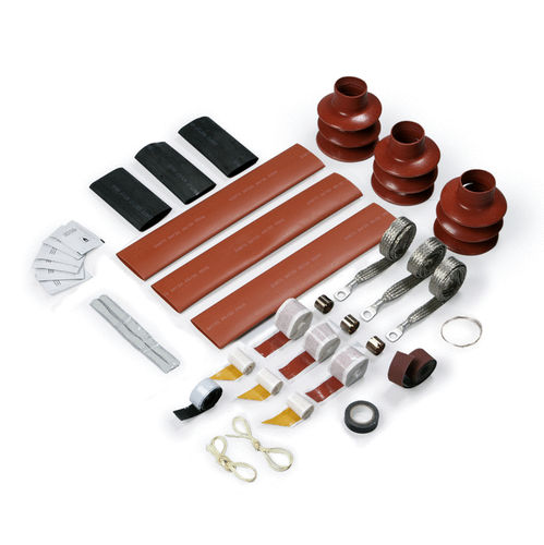 Tubular cable termination / heat-shrink / medium-voltage ENSTO