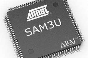 ARM microcontroller / capacitive touch / general purpose SAM3U series Atmel