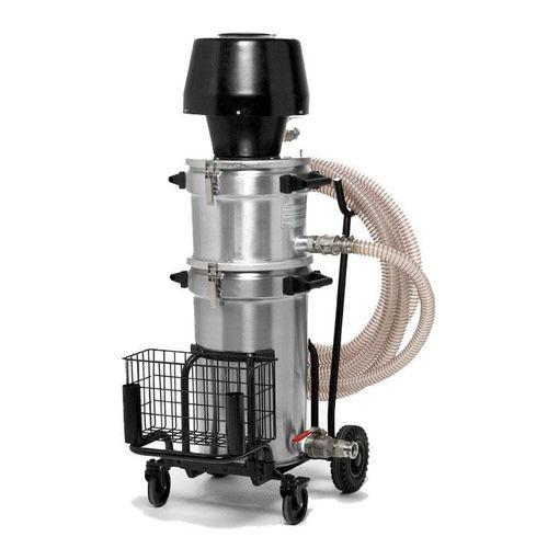 liquid vacuum cleaner / pneumatic / industrial / stainless steel