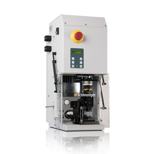 cable crimping machine / automatic / pneumatic