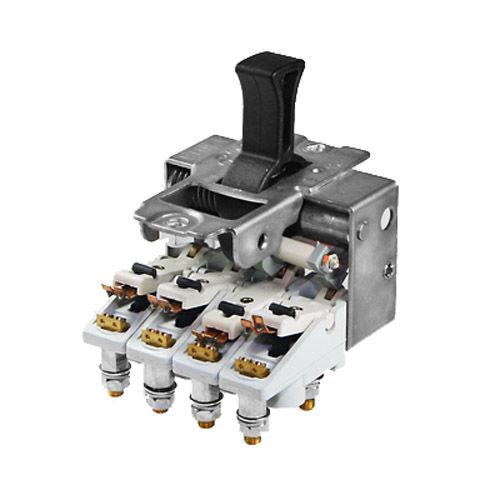 toggle switch / single-pole / electromechanical / rugged