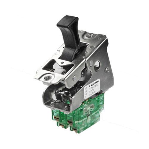 toggle switch / single-pole / three-position / electromechanical