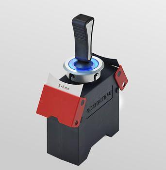 lever switch / single-pole / for railway vehicles / electromechanical