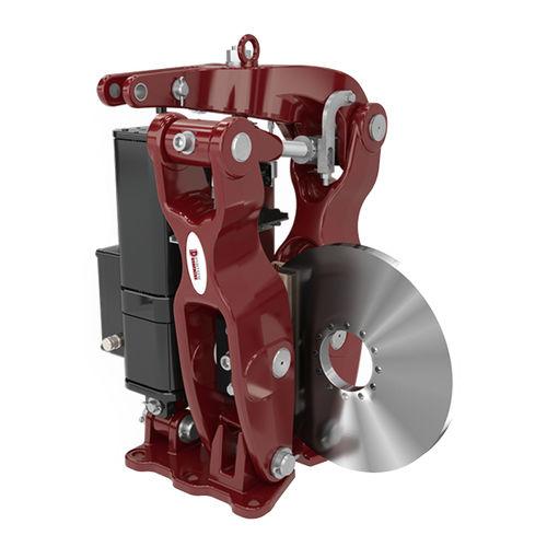 disc brake / spring / manual release / adjustable