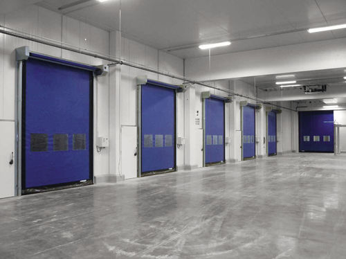 roll-up door / indoor / industrial / high-speed