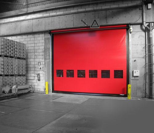 roll-up door / indoor / industrial / large