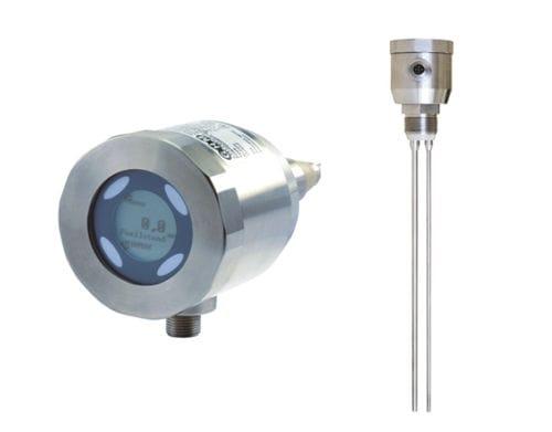 potentiometer level sensor / for liquids / stainless steel / compact