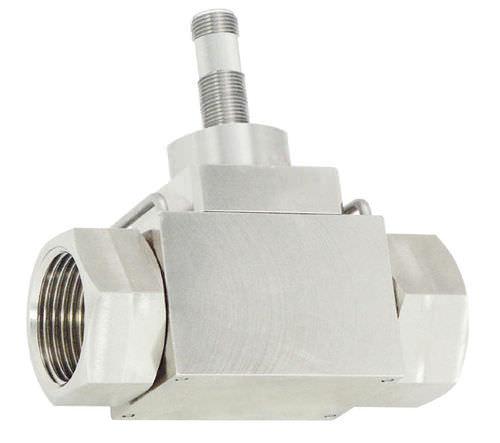 vortex flow meter / for liquids / precision / insertion