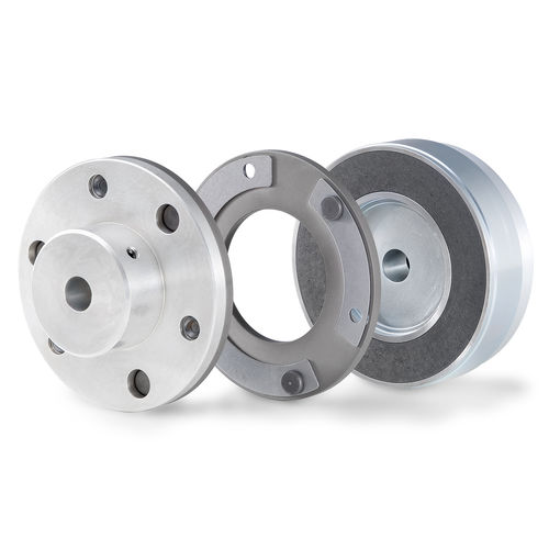 disc clutch / electromagnetic / flange-mounted / through-bore
