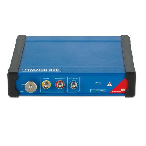 frequency response analyzer / portable