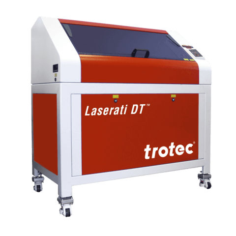 CO2 laser engraving machine / for rubber / A4