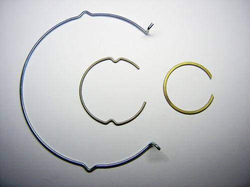 Round-wire spring / wave VANHULEN SPRINGS