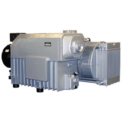 Rotary vane vacuum pump / single-stage / lubricated / industrial KVA series Tuthill Vacuum & Blower Systems