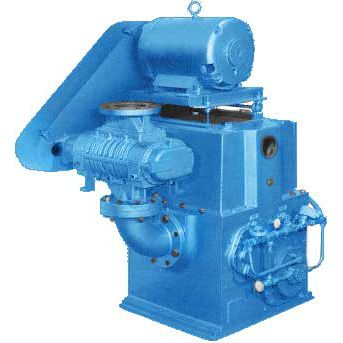 Vacuum unit with piston pump / with booster / industrial / compact CC series Tuthill Vacuum & Blower Systems