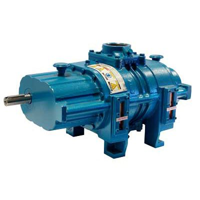 gas blower / rotary / single-stage / oil-free