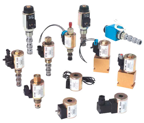 solenoid-operated hydraulic directional control valve / cartridge