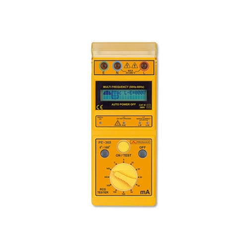 RCD tester / cabling / digital PE-365 PROMAX ELECTRONICA