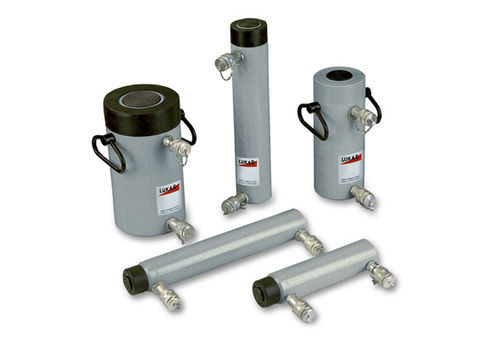 hydraulic cylinder / double-acting / steel