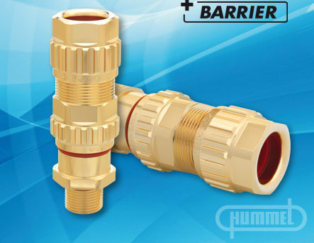 nickel-plated brass cable gland / IP65 / IP66 / IP68