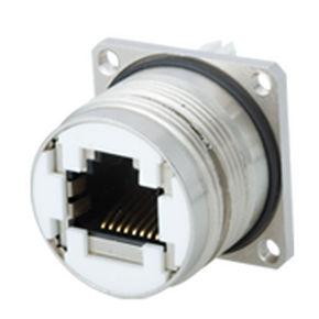 data connector / RJ45 / circular / push-pull