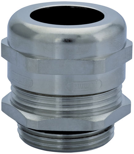 nickel-plated brass cable gland / IP69K / IP68 / EMC-shielded