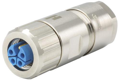 RF connector / right-angle / straight / circular