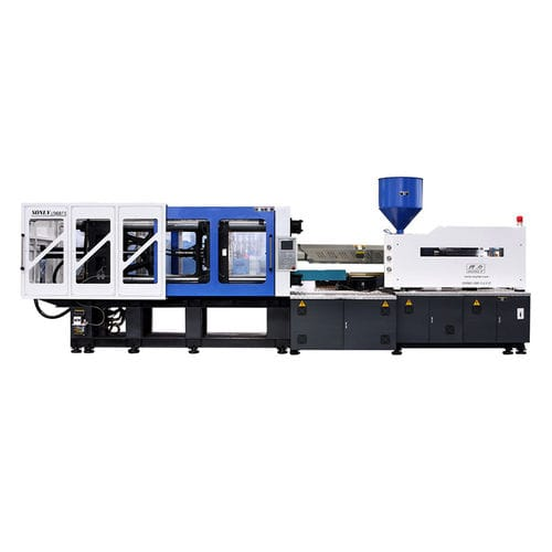 horizontal injection molding machine / hydraulic / for PVC / for PET