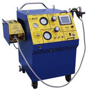 Heat exchanger tube swaging machine Mark V HydroSwage® Haskel International