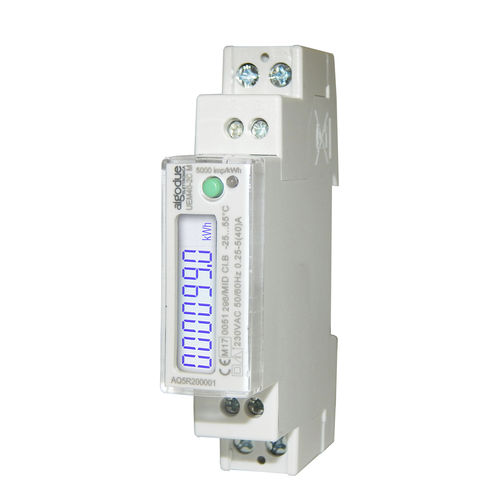 single-phase electric energy meter - Algodue Elettronica