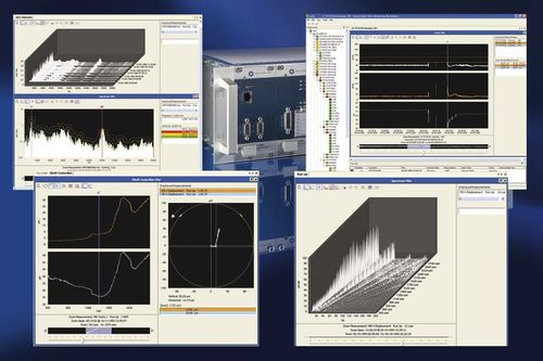 diagnostic software / for machine condition monitoring / rotating machinery