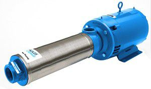 water pump / electric / semi-submersible / centrifugal