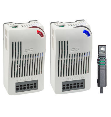 adjustable thermostat / electronic / contact / IP20
