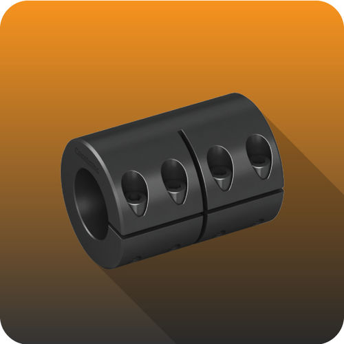 rigid coupling / for shafts / transmission / industrial