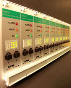 vibration monitoring system / alarm / continuous