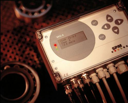 vibration monitoring system / measurement / continuous