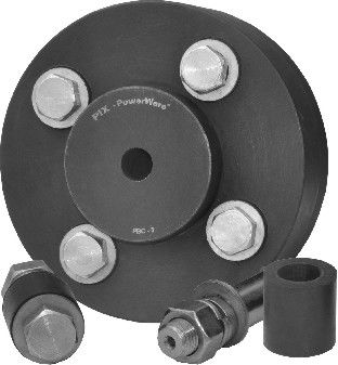 pin and bush coupling / transmission / for pumps / pump