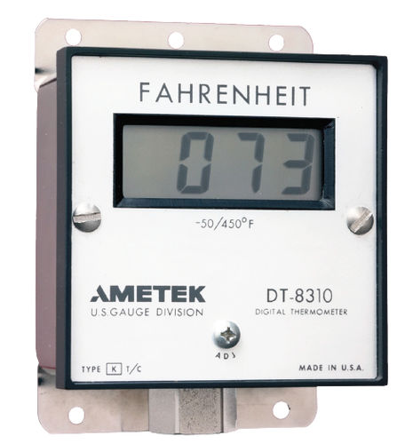 thermocouple thermometer / digital / stationary / stainless steel