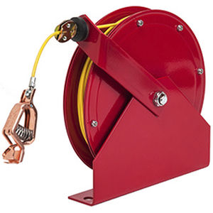 grounding reel / self-retracting / fixed / heavy-duty