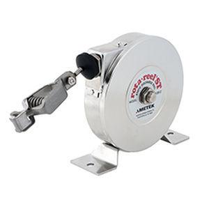 grounding reel / self-retracting / fixed / compact