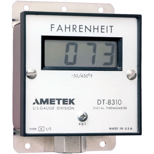 thermocouple thermometer / digital / built-in / stainless steel
