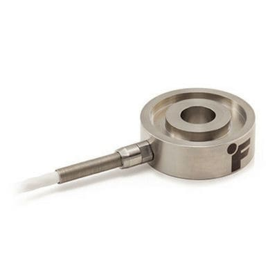 compression load cell / doughnut-shaped / through-hole