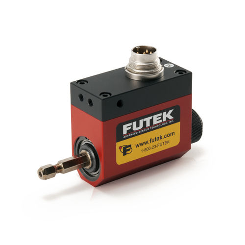 shaft-to-shaft torque sensor / rotary / compact / strain gauge