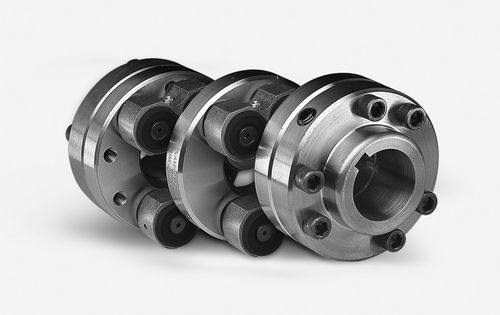 flexible coupling / misalignment correction / flange