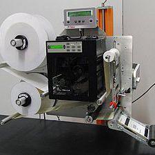 self-adhesive label label printer-applicator / for packaging